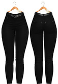Blueberry - Power Play - Jeans - Classic - Black