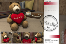 Sway's Cookie Bear [I love you] (copy version)