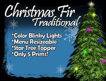 MG - Christmas Green Fir - w/Blinky Color Lights