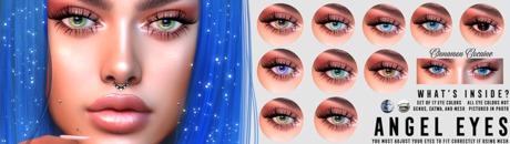 [Cinnamon Cocaine] Angel Eyes - Full Pack