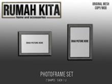 Rumah Kita - Photoframe Set