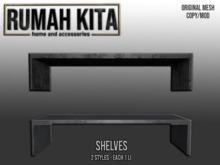 Rumah Kita - Shelves