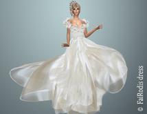 FaiRodis Pearl Flower dress long pack FOR all avatars