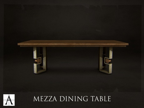 Architect. Mezza Dining Table (rectangle)