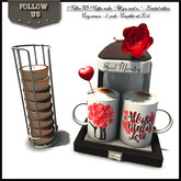 """LIMITED OFFER - Valentine's day !! Follow US !! Coffee Maker """"All you need is.."""""""