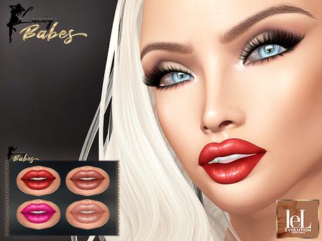 LB - Rosa LELUTKA EVOLUTION Lipstick Gift (4x Shades)