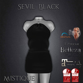 **Mistique** Sevil Black (wear me and click to unpack)