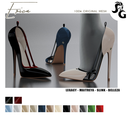 ::SG:: Erica Shoes - LEGACY