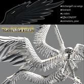 ANIMESH Archangel's Large Six Wings (white & black) ★ showy effect
