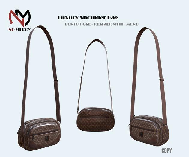 No Mercy / Luxury Shoulder Bag