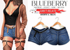 Blueberry - Can't Releate - Shorts & Belts - Midnight