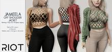 RIOT / Jameela Jacket - Fatpack | Maitreya / Belleza / Slink / Legacy