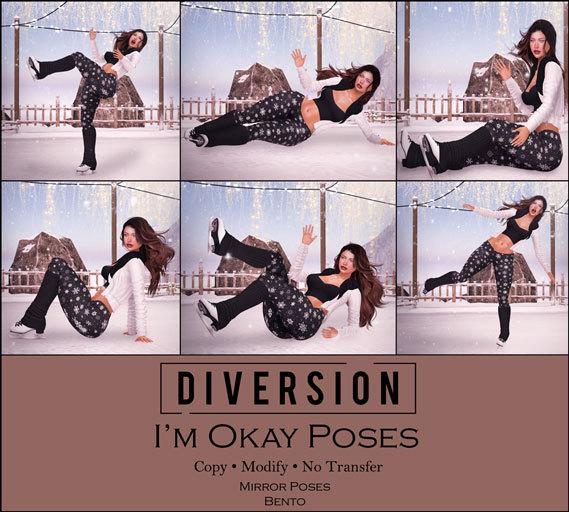 Diversion - I'm Okay Poses // Bento
