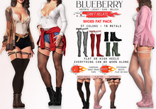 Blueberry - Can't Relate - Stockings & Boots - Fat Pack
