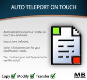 Auto Teleport On Touch Script