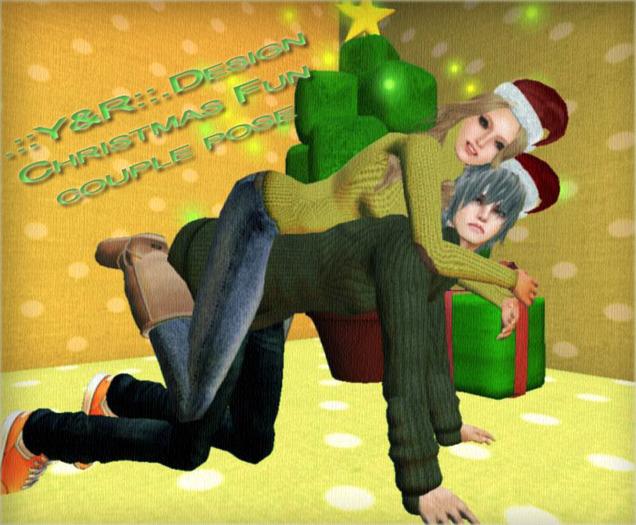 .::Y&R::.Design Christmas Fun couple pose(boxed)