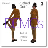 Ruthed 2020 Jacket Pants Shoes Outfit DEMO