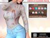 Addams - Penelope - Turtleneck with Bra #ANGELS & CLOUD PACK