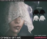 Peekaboo - Creepy Girl Set