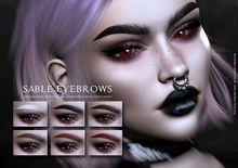 -SU!- Sable Eyebrows -Genus-