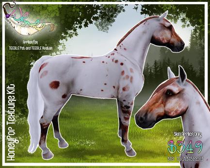 """""""HoneyPop"""" Texture Kit - Teegle Horse/Teeglepet"""