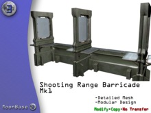 [MB3] Shooting Range Barricade MK1