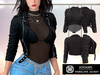Addams - Penelope - Leather Jacket with Top #29