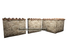 06 - 8f8 - primavera in Toscana  Courtyard Walls Bag