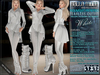Bella Moda: Indumento Intrepido White Fearless Outfit for Maitreya/Physique/Hourglass/Isis/Venus/Freya+Classic - FULL