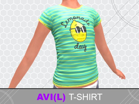 [Zero-One] LemonadeDay [T-SHIRT] AVI(L)