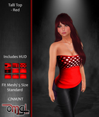 OMG! Inc. - Talli Top - Red