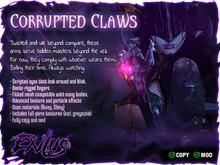 [ Exilus ] Corrupted Claws