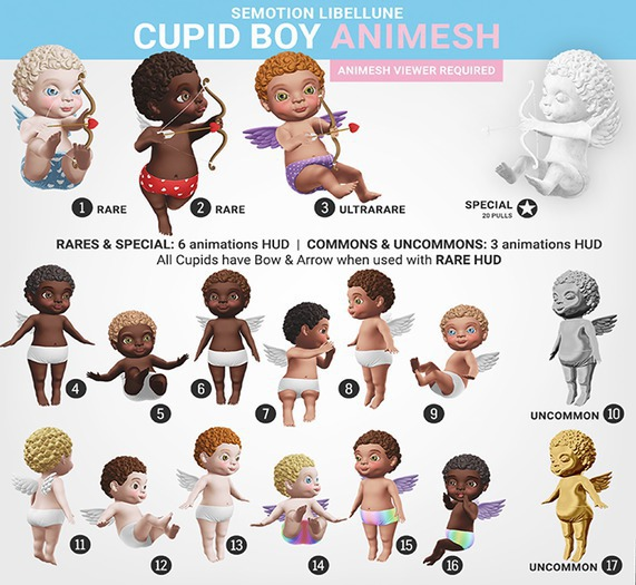 SEmotion Libellune Cupid Boy Animesh #6