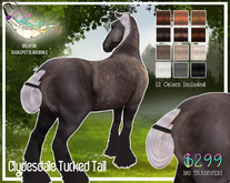 Tucked Tail - Teeglepet Clydesdale