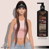 ALANTORI Gift | Ruby Hair in 146 Colors