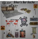 Bee Designs Biker's Bar Gacha 8