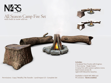 N4RS Camp Fire Set PG with lots of friendly sits and romantic bento cuddles