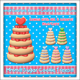 Kawaii Couture Deco Sugar Cookie Tree Round