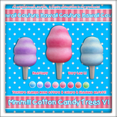 Kawaii Couture Cotton Candy Trees V1