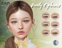 Sap ~ Purity Eyebrows {Genus / BoM}