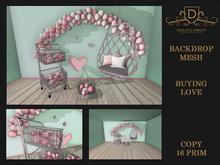 {DC} Backdrop Buying Love Mesh