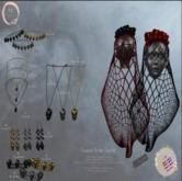 NaaNaa's Corpse Bride #9 Long Necklace [Silver]