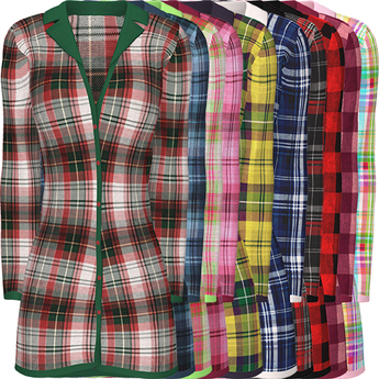 !PCP :: Mabel Shirt [Plaid Pack]