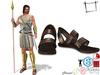 Full Perm Men's Roman Soldier Sandals Slink Male, Belleza Jake, Signature Gianni, Onupup, Gamit, Adin