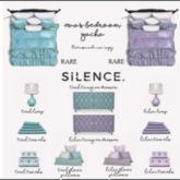 Silence. - Eva's Table Lamp - Lilac