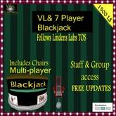 V&L 7 Player Blackjack BOX