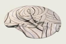ValArt round modern carpet Gift