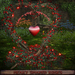 ❃Fantasy Forest Collection ❤️ Heart-Shaped Branch with Red Roses