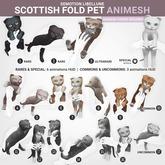 SEmotion Libellune Scottish Fold Pet Animesh #9