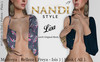 [Nandi Style] - Bag Top Lisa.